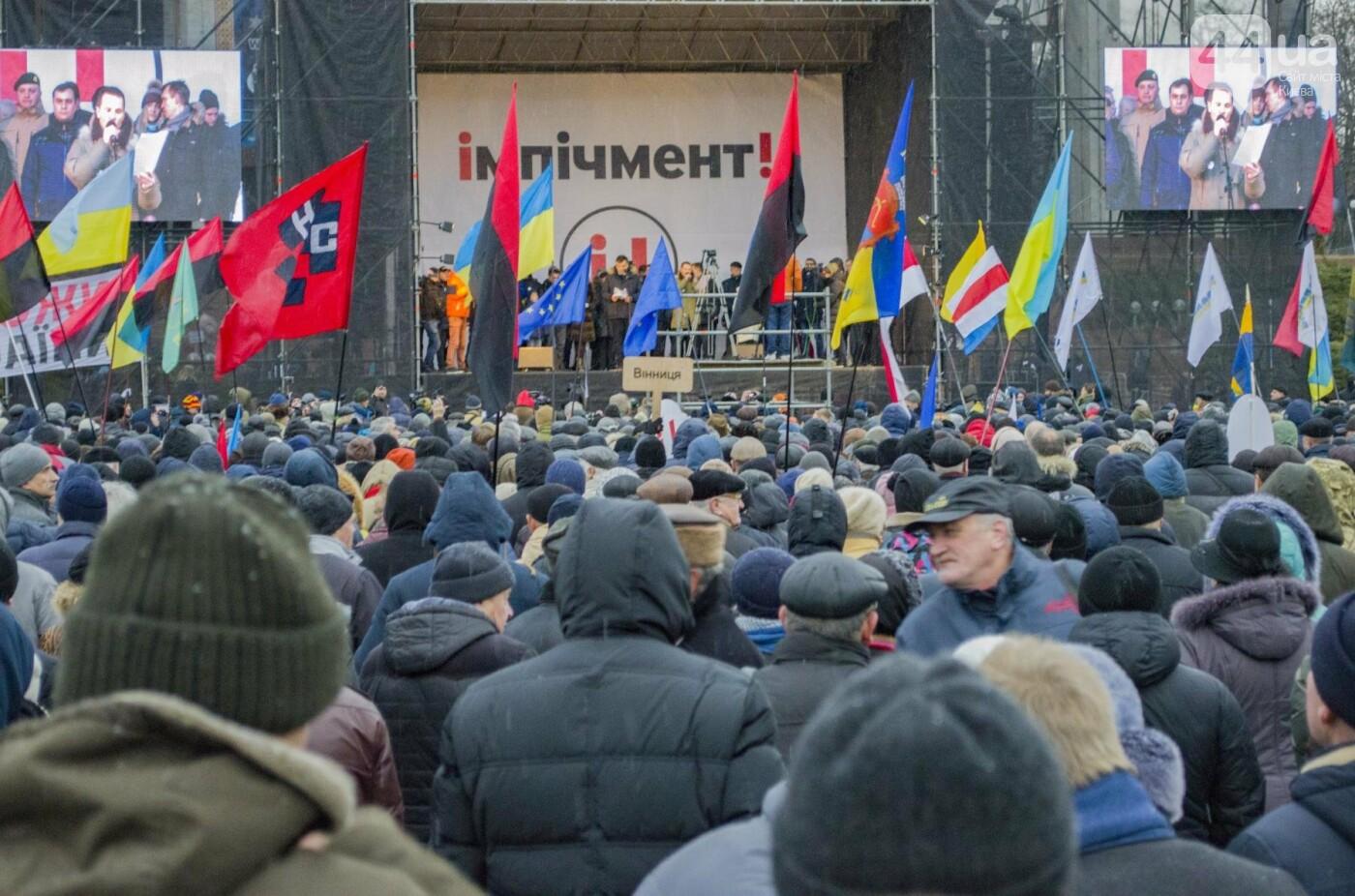Порошенко дали 14 дней на отставку: Саакашвили провел очередной марш за импичмент, фото-17