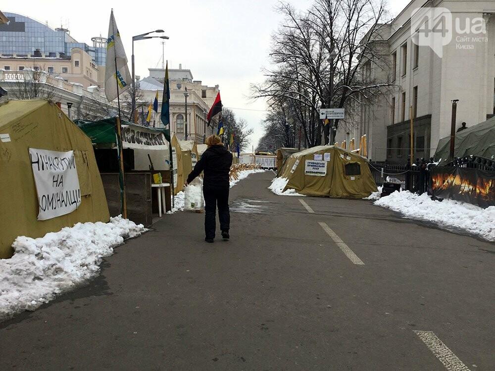 Киев так и не встал. Палаточный городок Саакашвили сегодня был безлюдным (ФОТО), фото-4
