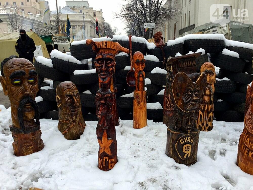 Киев так и не встал. Палаточный городок Саакашвили сегодня был безлюдным (ФОТО), фото-1