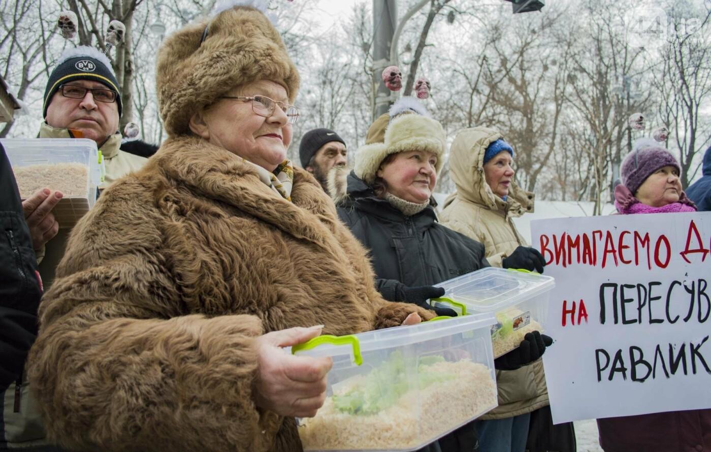 В центре Киева прошла необычная акция в поддержку улиток: как это было, фото-2