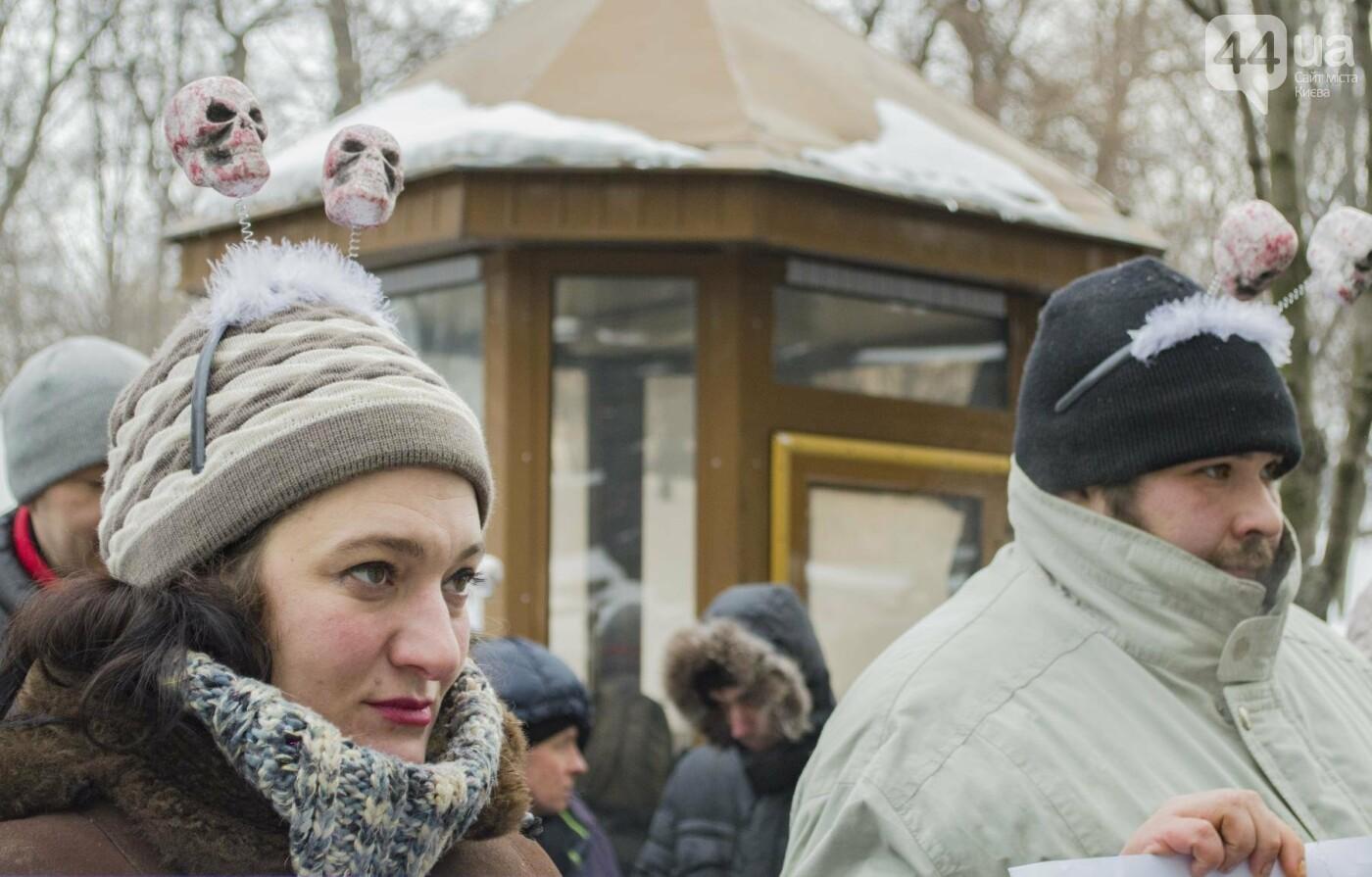 В центре Киева прошла необычная акция в поддержку улиток: как это было, фото-6