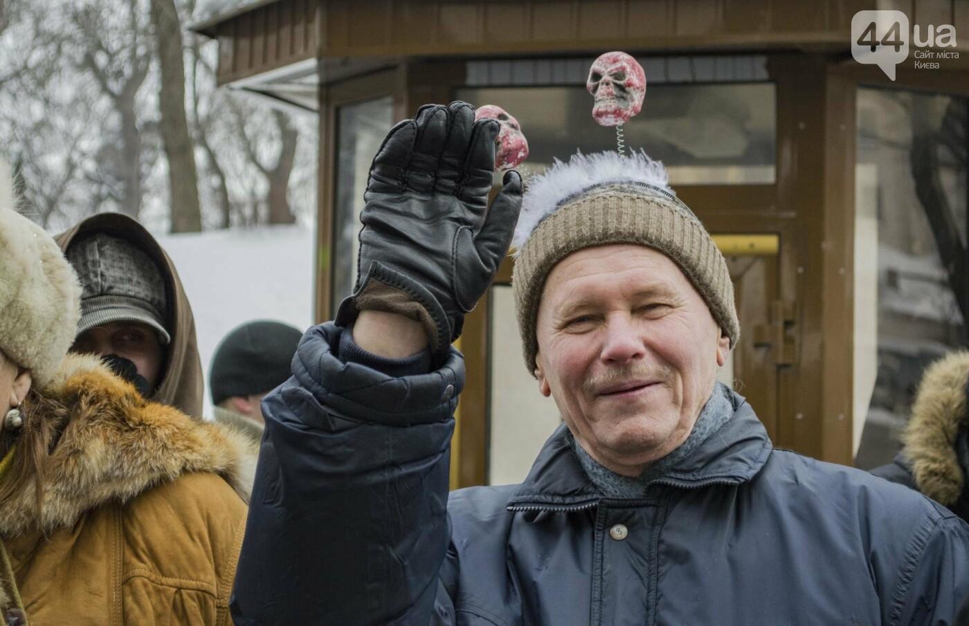 В центре Киева прошла необычная акция в поддержку улиток: как это было, фото-8