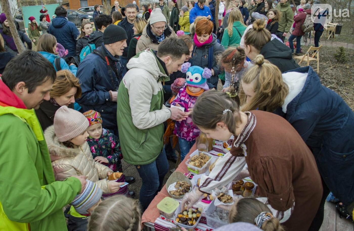 Бумажные птицы, танцы и вкусности: как в Киеве отметили праздник весны  , фото-10
