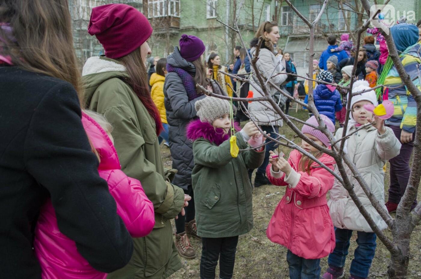 Бумажные птицы, танцы и вкусности: как в Киеве отметили праздник весны  , фото-1