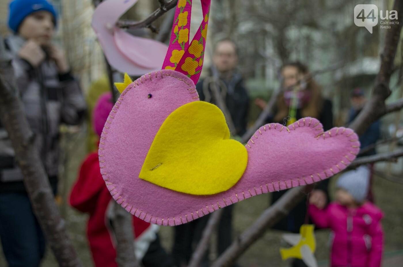 Бумажные птицы, танцы и вкусности: как в Киеве отметили праздник весны  , фото-4