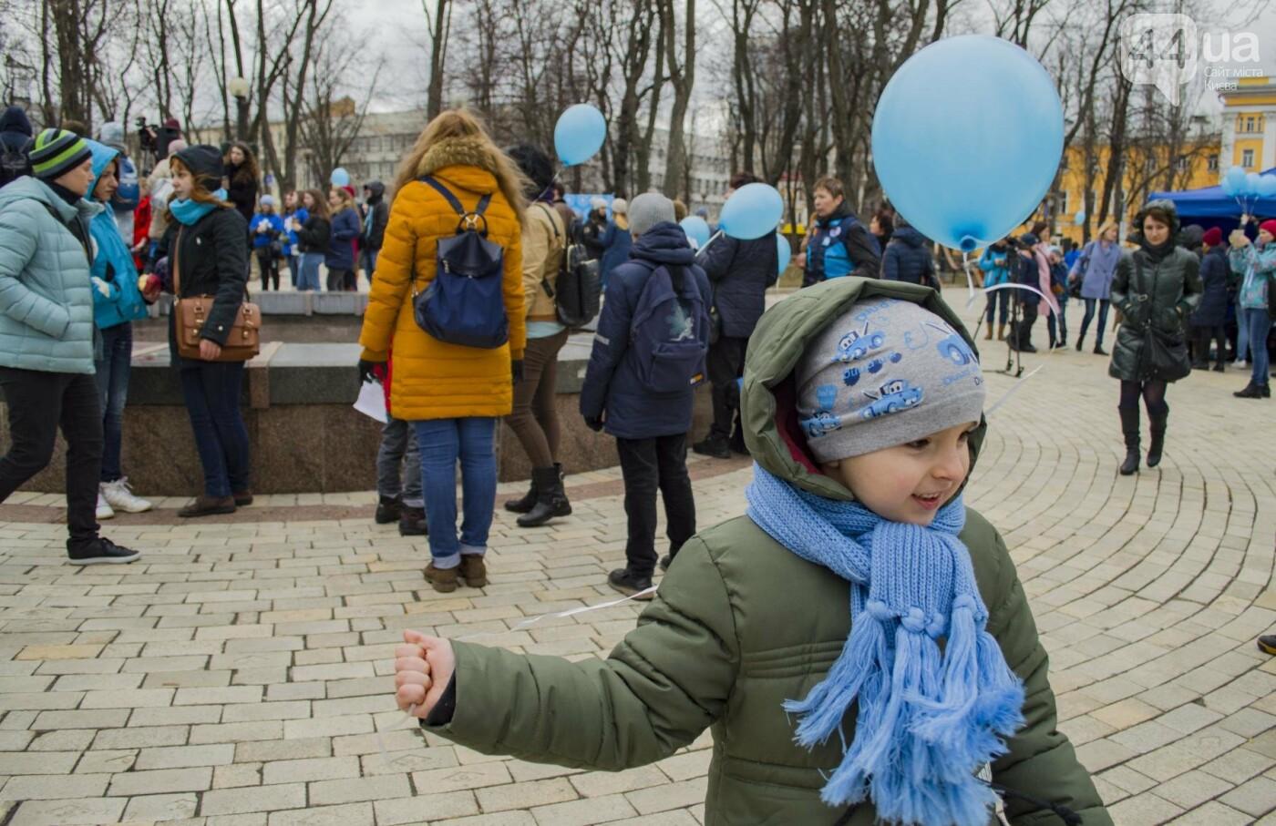"""""""Мы вместе"""": в Киеве прошла акция в поддержку детей и взрослых с аутизмом, фото-3"""