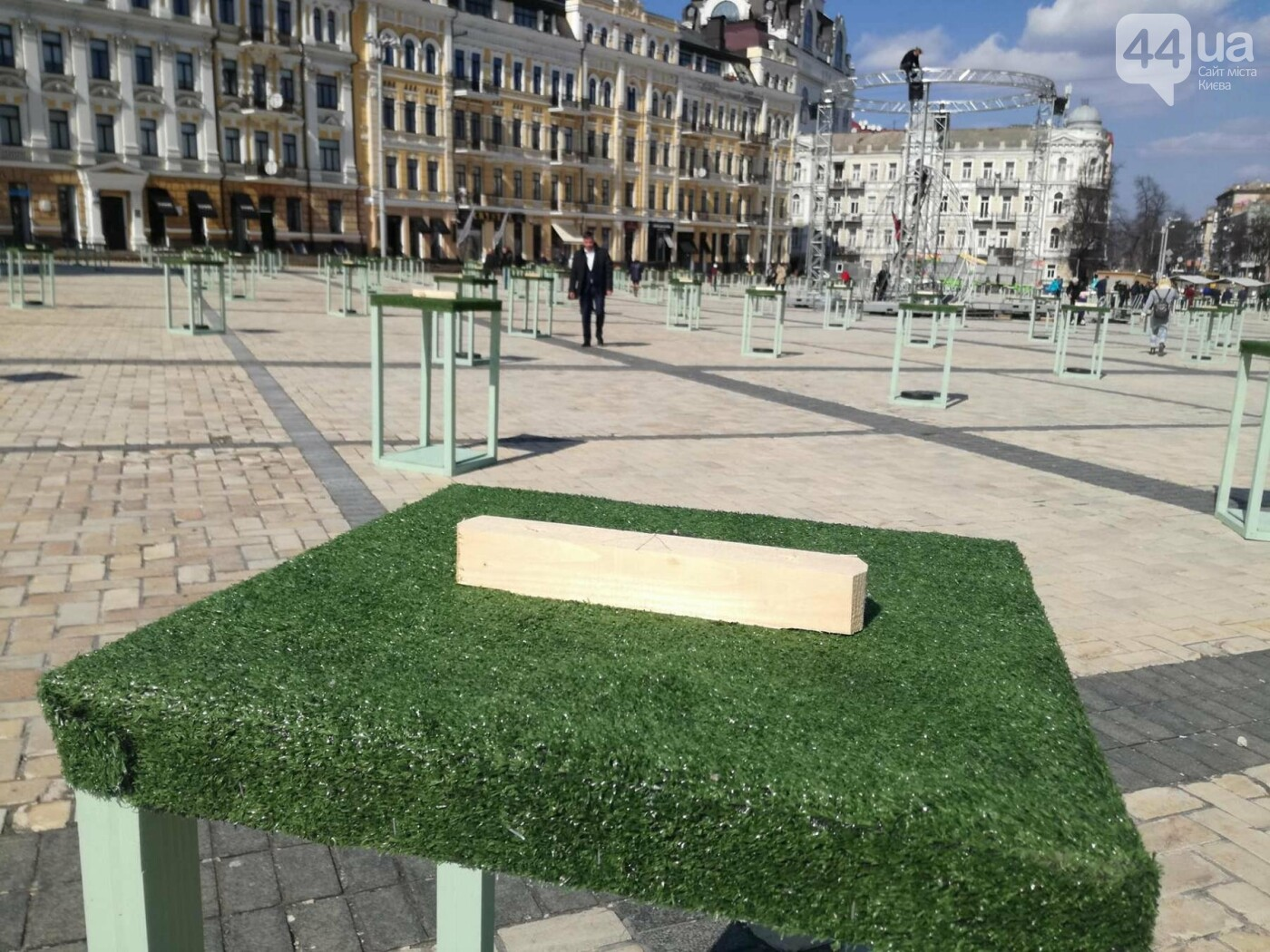 Софийская площадь готовится к Пасхе (ФОТО), фото-10