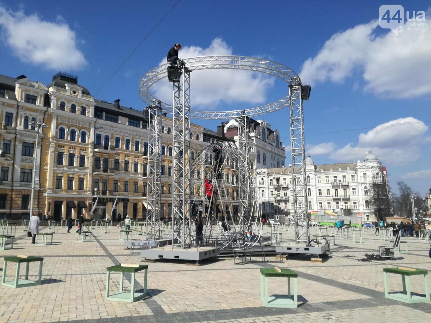 Софийская площадь готовится к Пасхе (ФОТО), фото-2