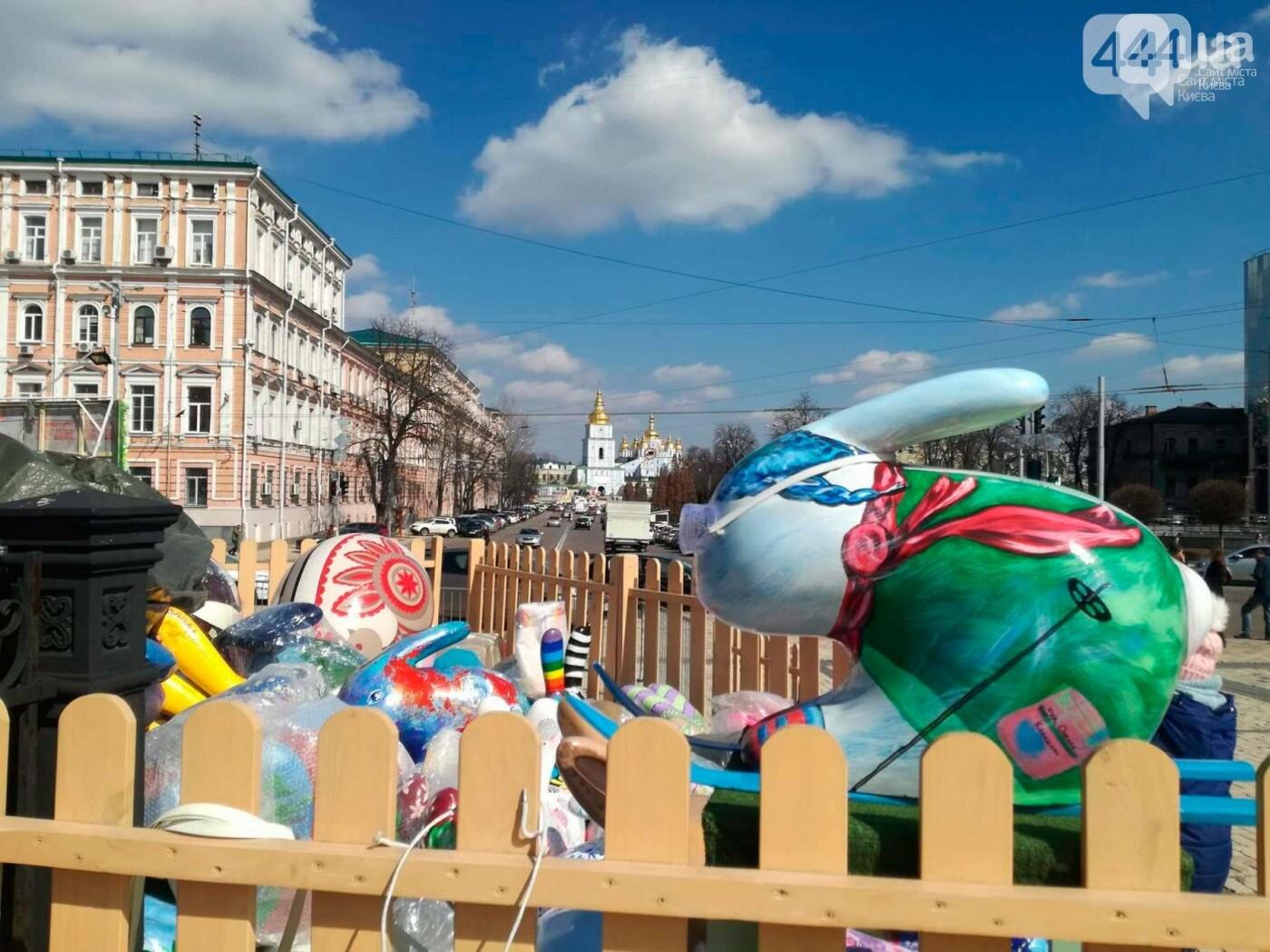 Софийская площадь готовится к Пасхе (ФОТО), фото-5