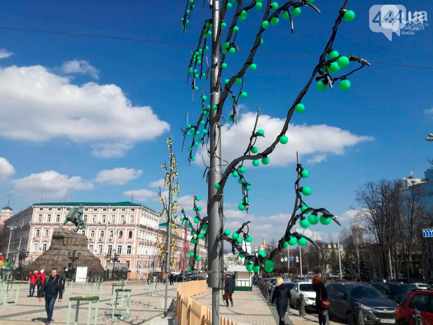 Софийская площадь готовится к Пасхе (ФОТО), фото-11