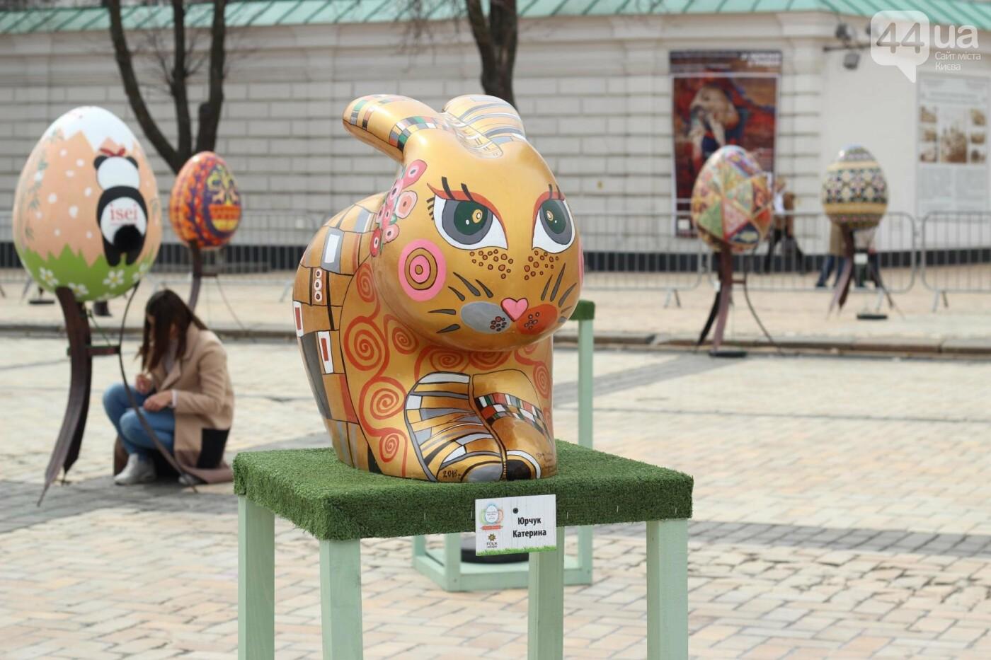 Писанки и кролики: как на Софийской площади проходит Пасхальный фестиваль, фото-19