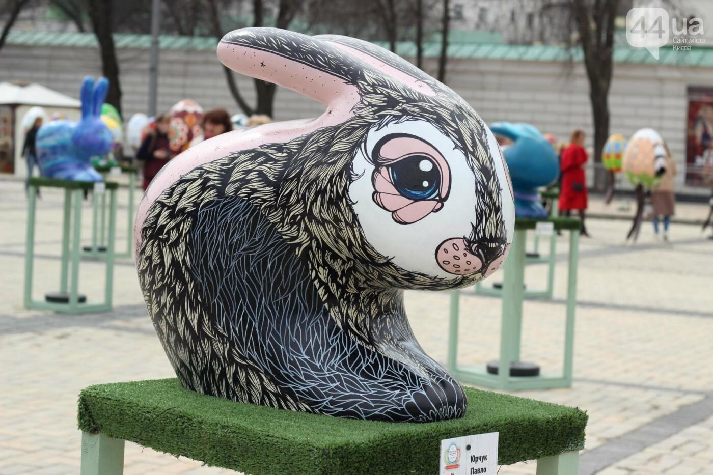 Писанки и кролики: как на Софийской площади проходит Пасхальный фестиваль, фото-52