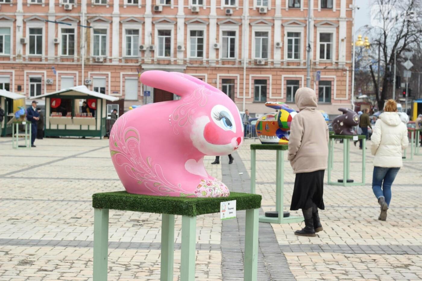 Писанки и кролики: как на Софийской площади проходит Пасхальный фестиваль, фото-10