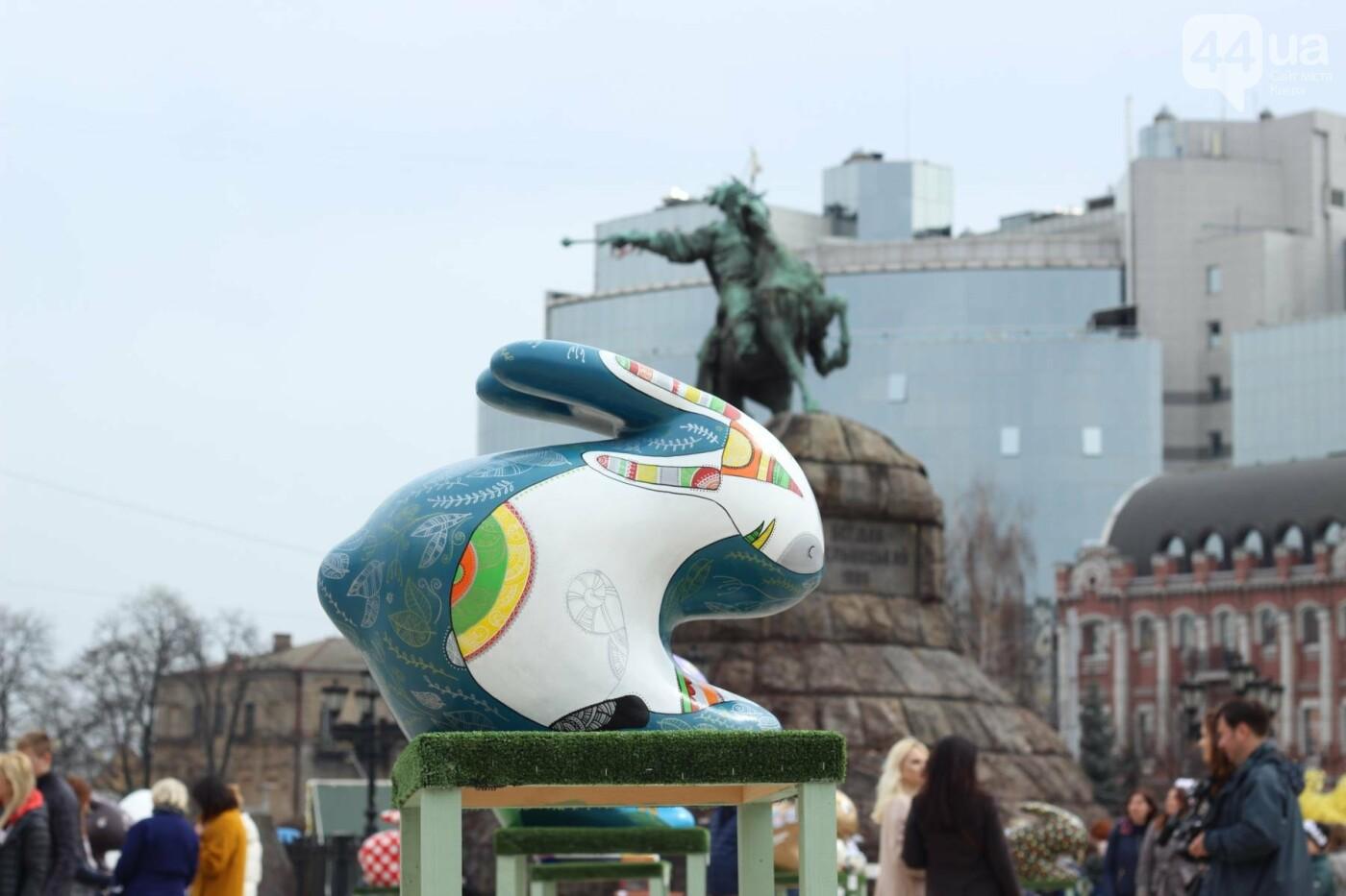 Писанки и кролики: как на Софийской площади проходит Пасхальный фестиваль, фото-12
