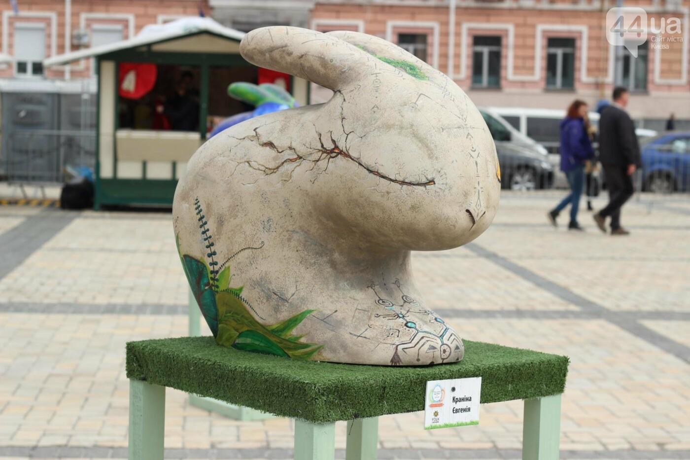 Писанки и кролики: как на Софийской площади проходит Пасхальный фестиваль, фото-27