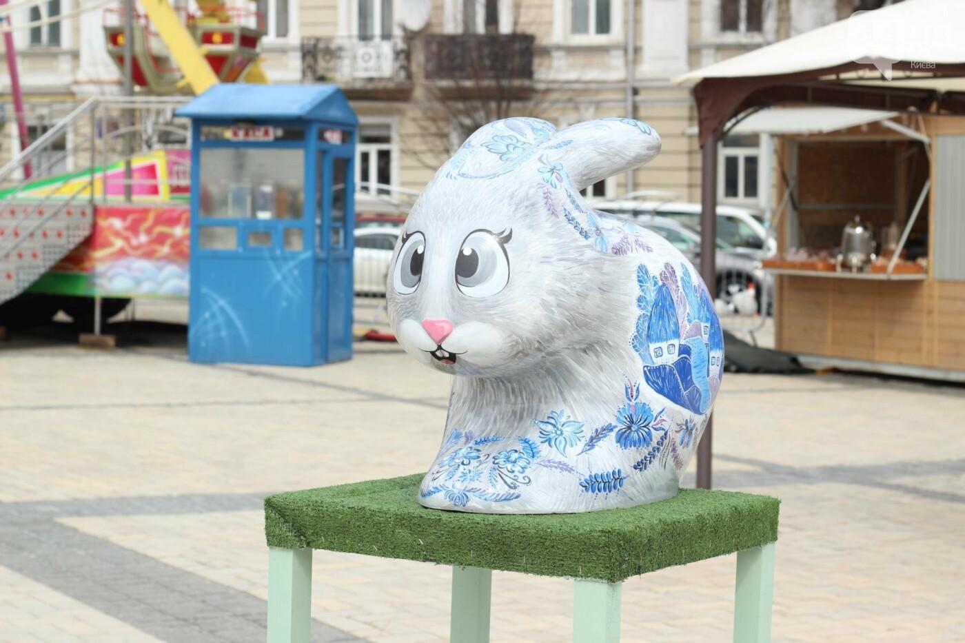 Писанки и кролики: как на Софийской площади проходит Пасхальный фестиваль, фото-25