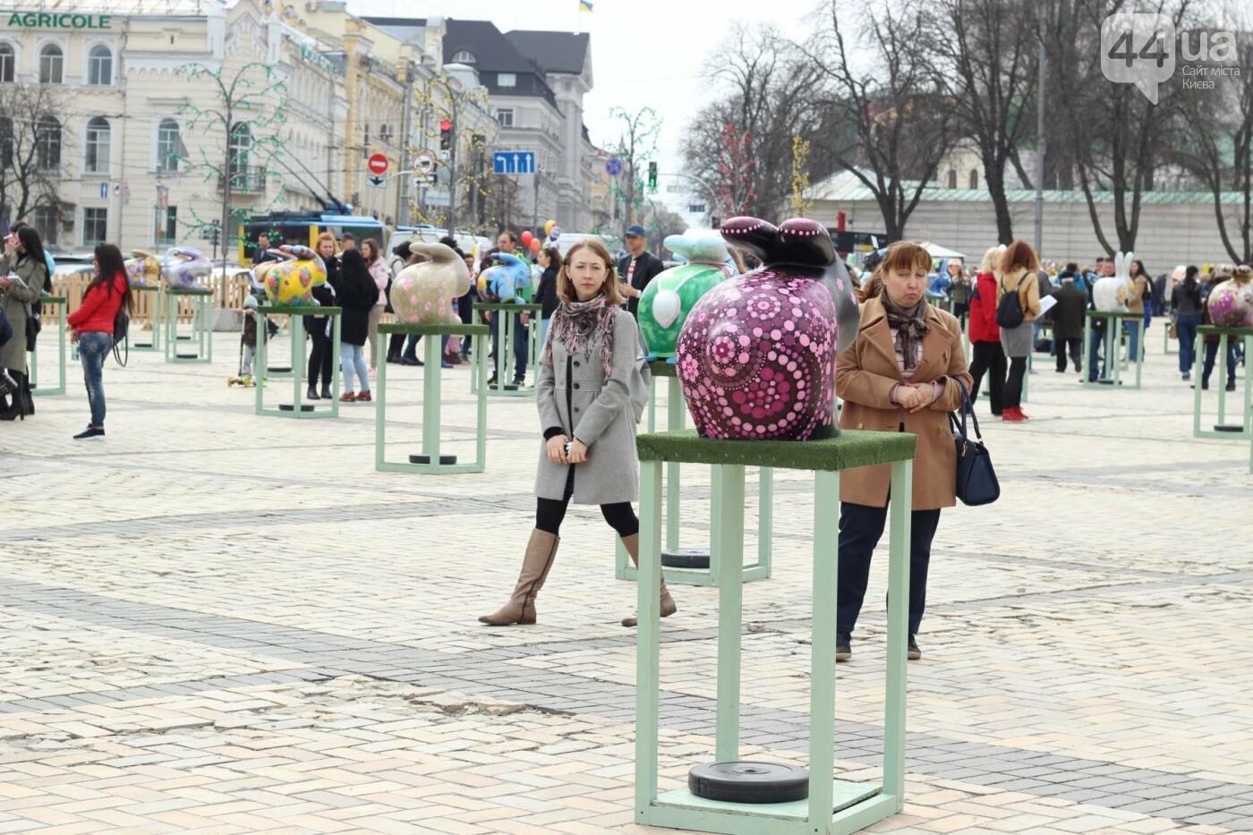 Писанки и кролики: как на Софийской площади проходит Пасхальный фестиваль, фото-54