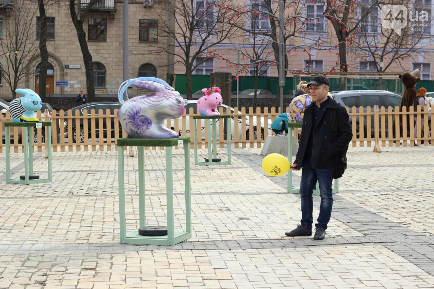 Писанки и кролики: как на Софийской площади проходит Пасхальный фестиваль, фото-55