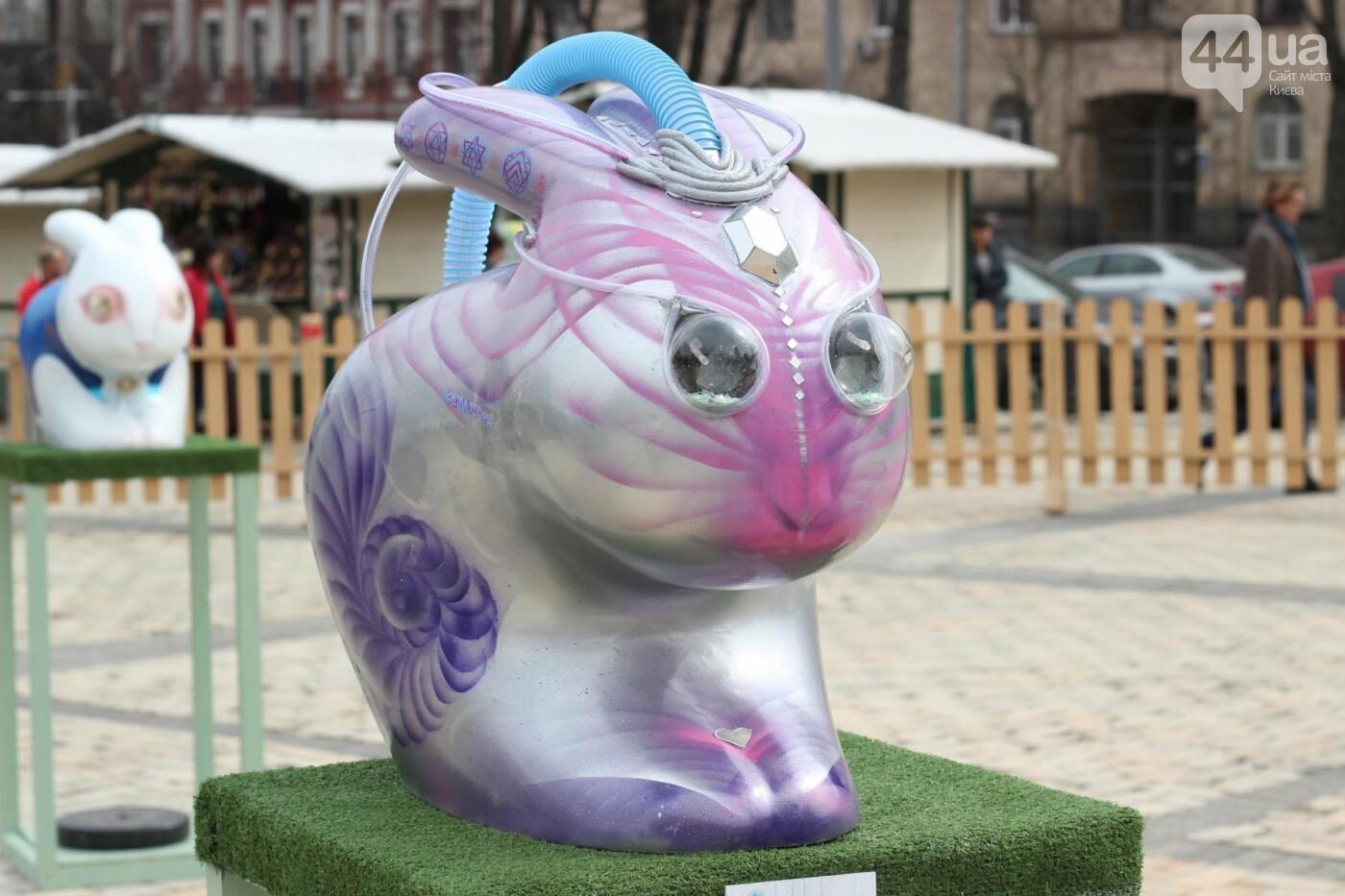 Писанки и кролики: как на Софийской площади проходит Пасхальный фестиваль, фото-40