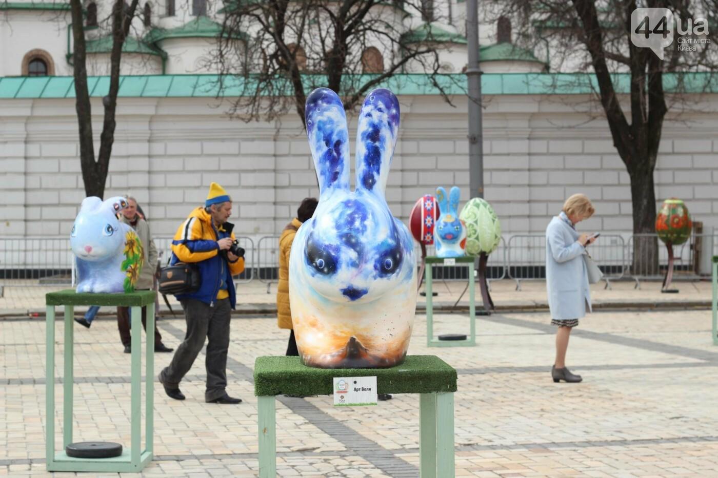 Писанки и кролики: как на Софийской площади проходит Пасхальный фестиваль, фото-1