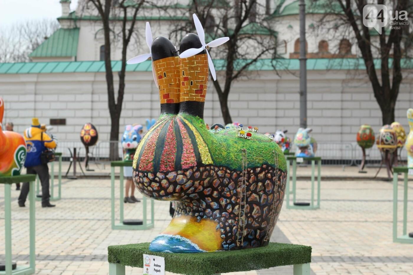 Писанки и кролики: как на Софийской площади проходит Пасхальный фестиваль, фото-43