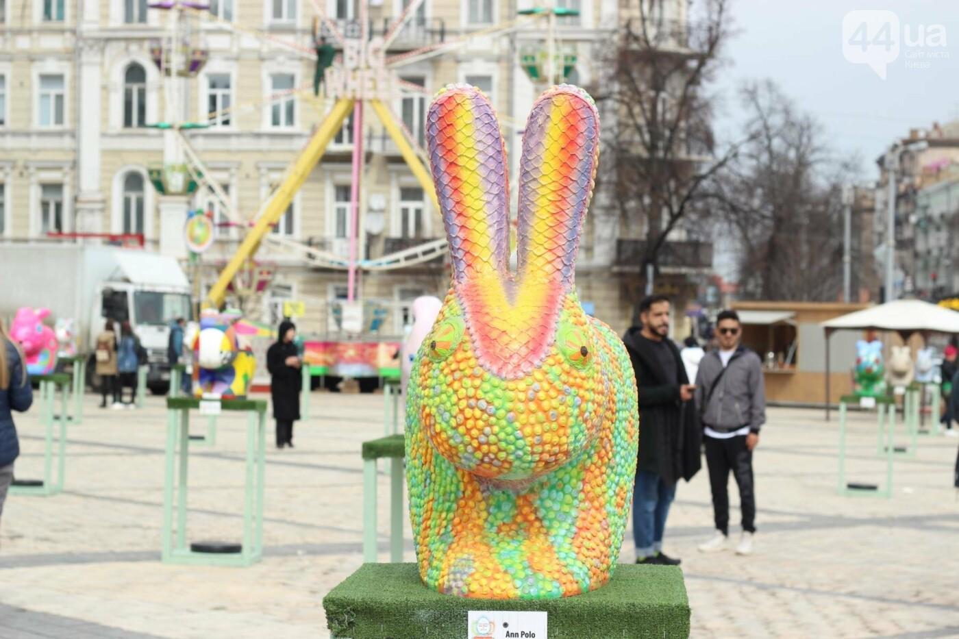 Писанки и кролики: как на Софийской площади проходит Пасхальный фестиваль, фото-38