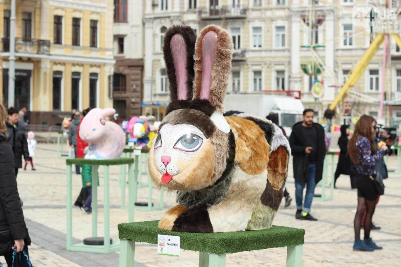 Писанки и кролики: как на Софийской площади проходит Пасхальный фестиваль, фото-3