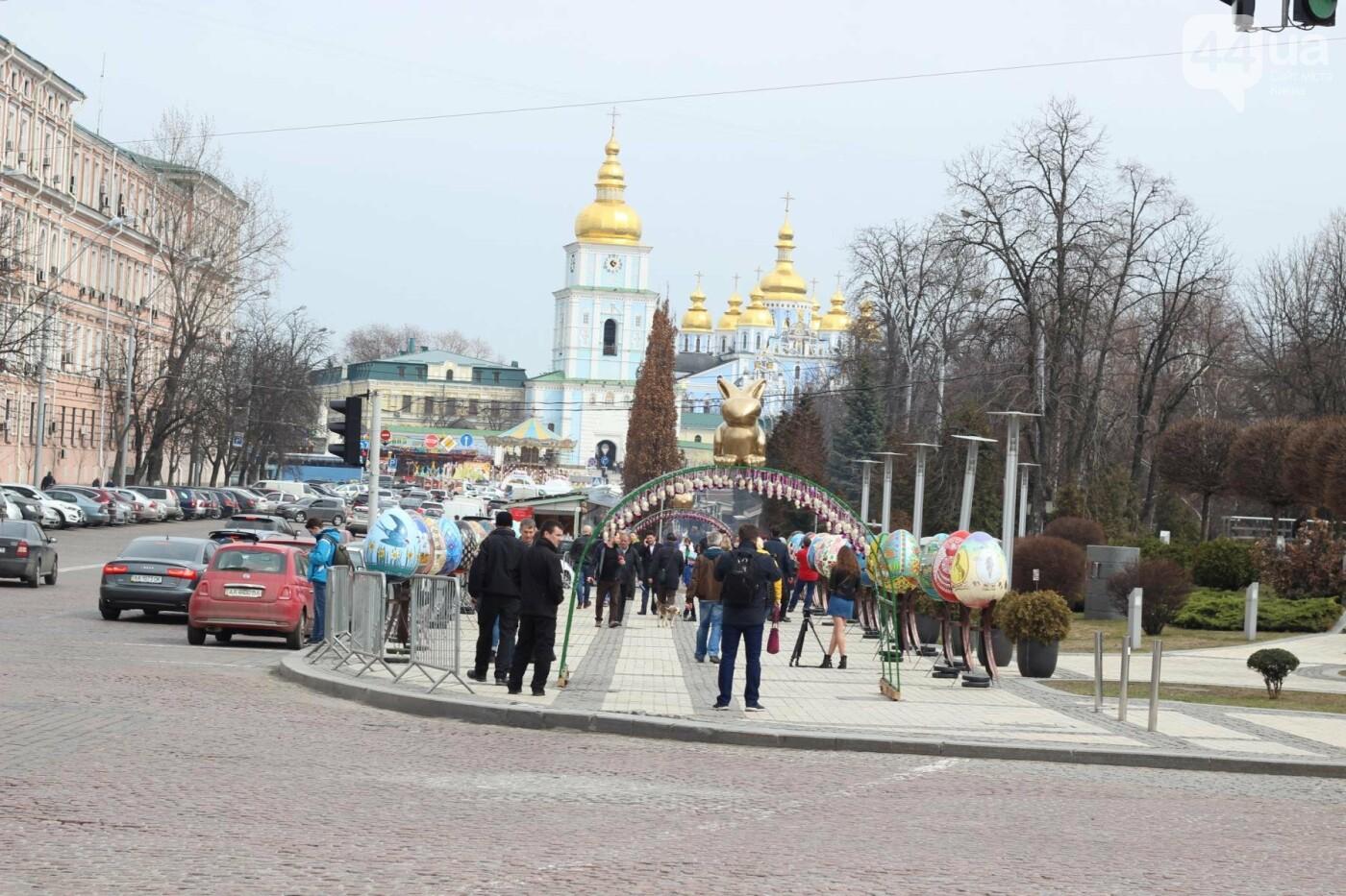 Писанки и кролики: как на Софийской площади проходит Пасхальный фестиваль, фото-58