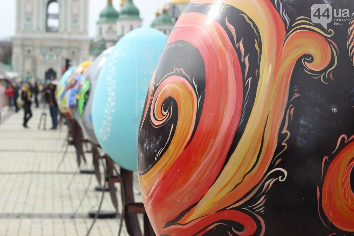 Писанки и кролики: как на Софийской площади проходит Пасхальный фестиваль, фото-20