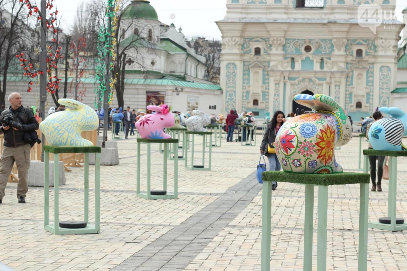 Писанки и кролики: как на Софийской площади проходит Пасхальный фестиваль, фото-13
