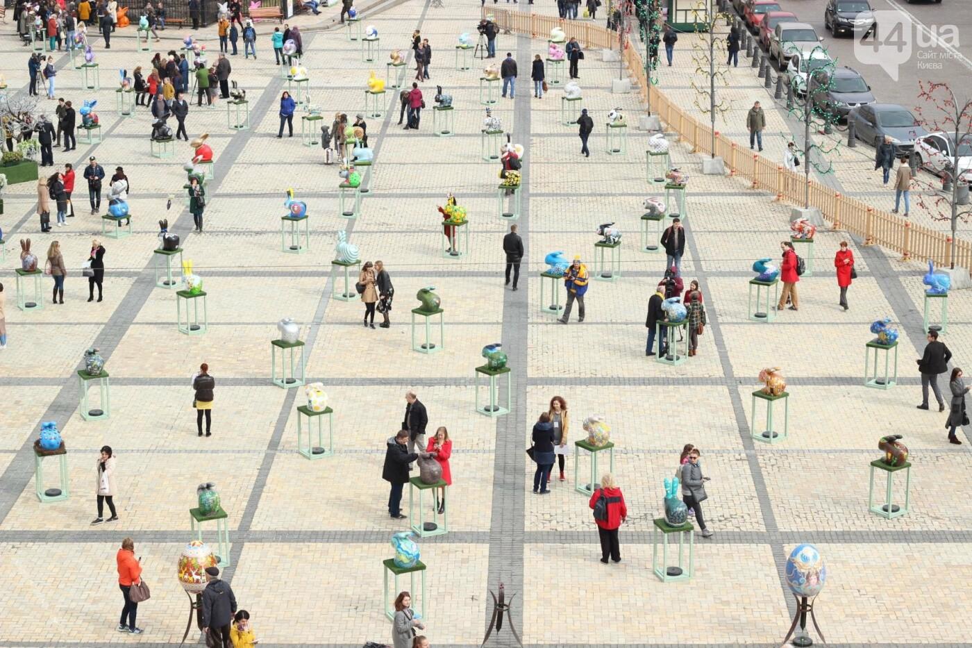Писанки и кролики: как на Софийской площади проходит Пасхальный фестиваль, фото-8