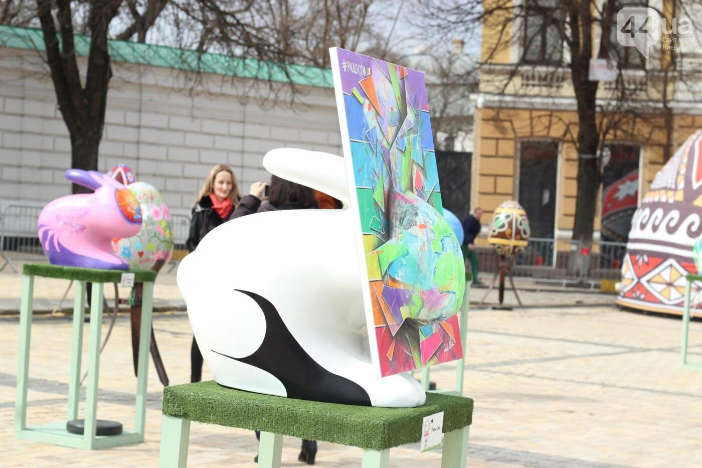 Писанки и кролики: как на Софийской площади проходит Пасхальный фестиваль, фото-4