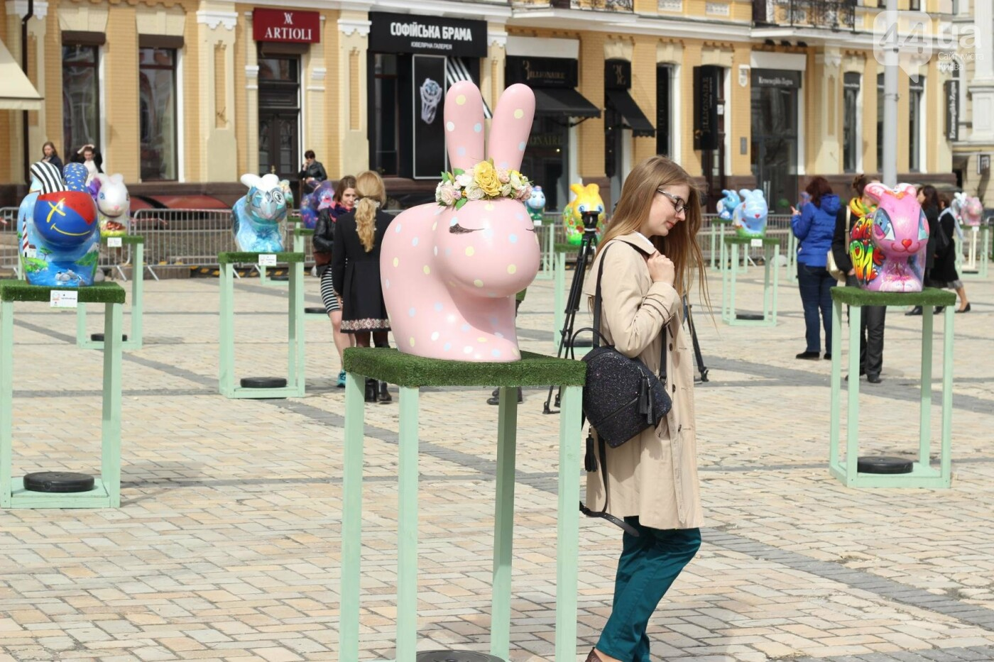 Писанки и кролики: как на Софийской площади проходит Пасхальный фестиваль, фото-51