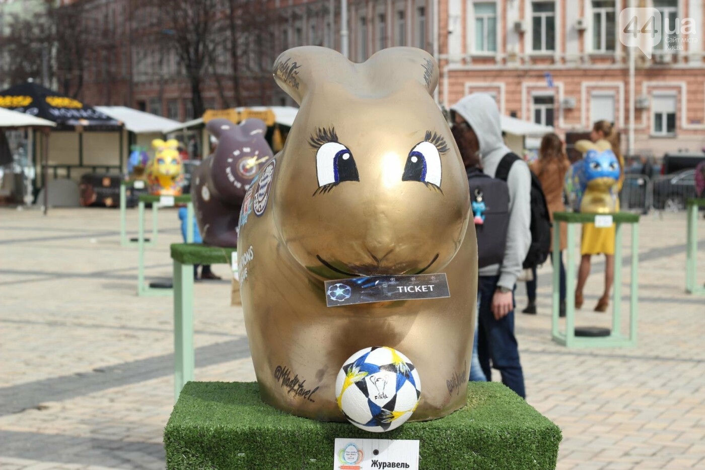 Писанки и кролики: как на Софийской площади проходит Пасхальный фестиваль, фото-33