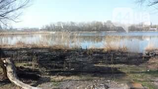 Как киевлянка пожар на озере Иорданском тушила (ФОТО), фото-3