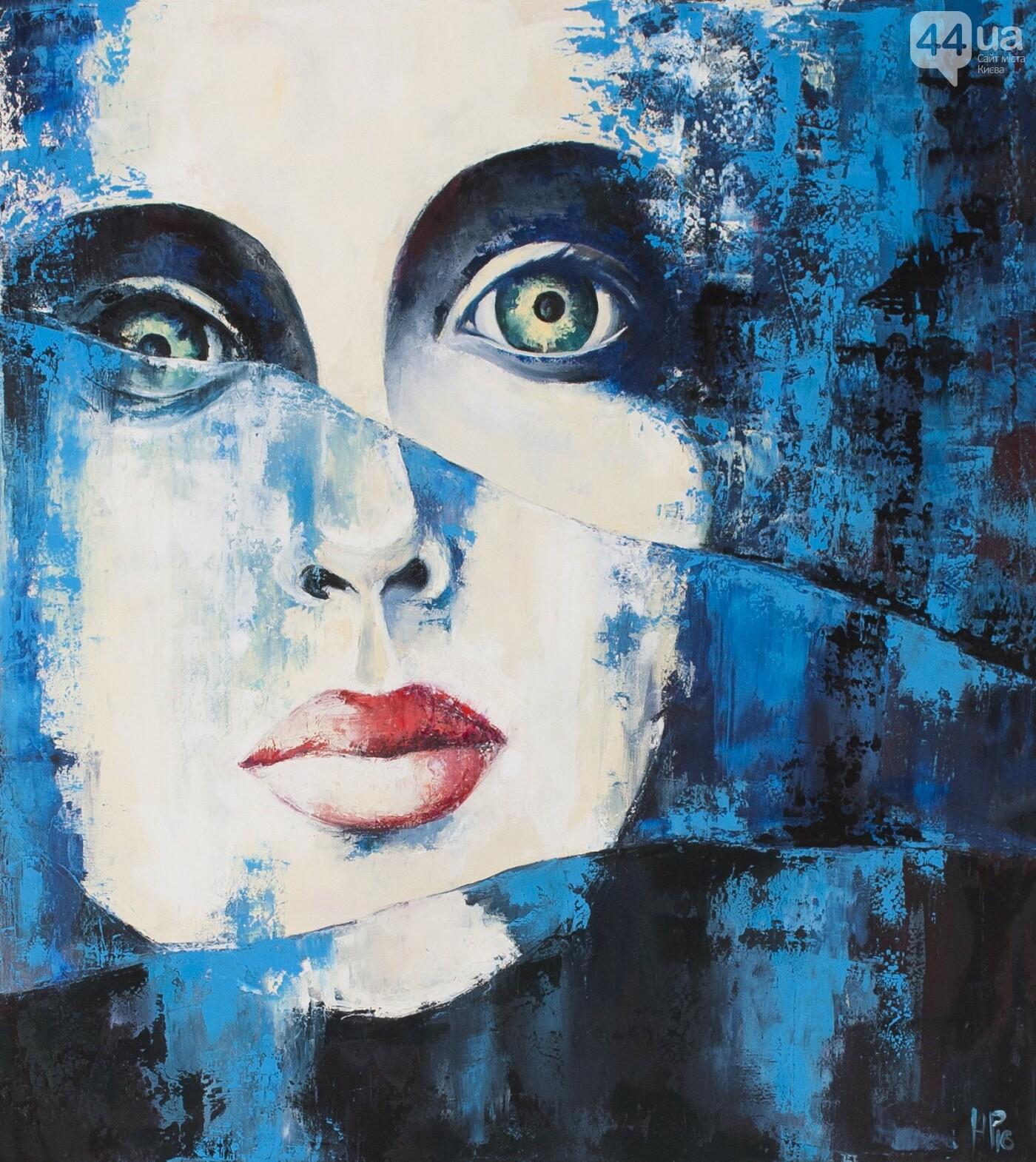 В Киеве украинская художница презентует истории о женщинах в картинах, фото-3