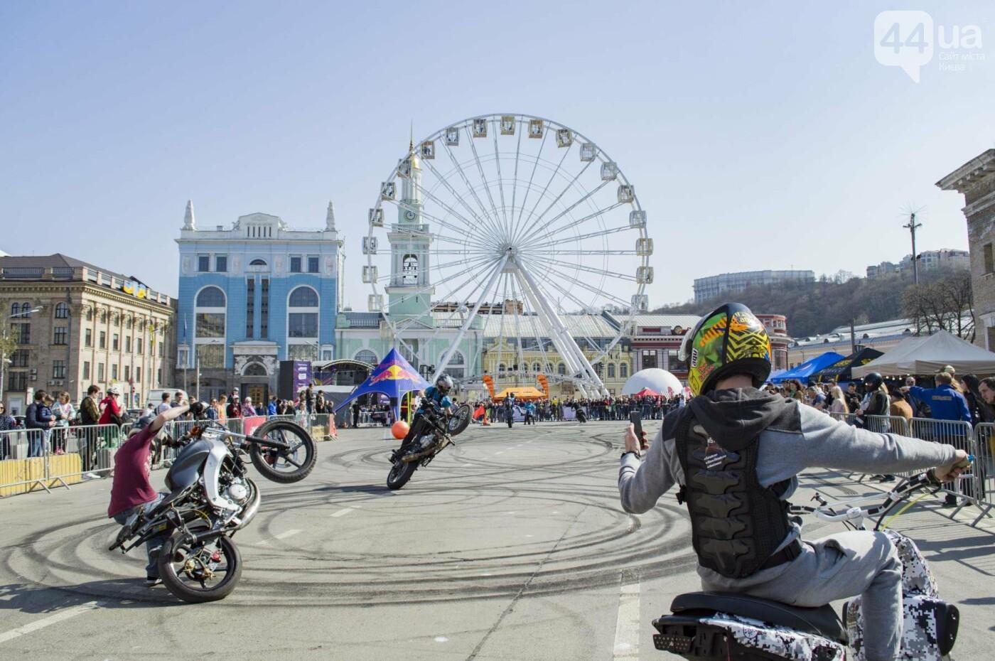 Мотогонки, автошоу патрульных и мощный дрифт: на Подоле проходит масштабный фестиваль драйва, фото-1