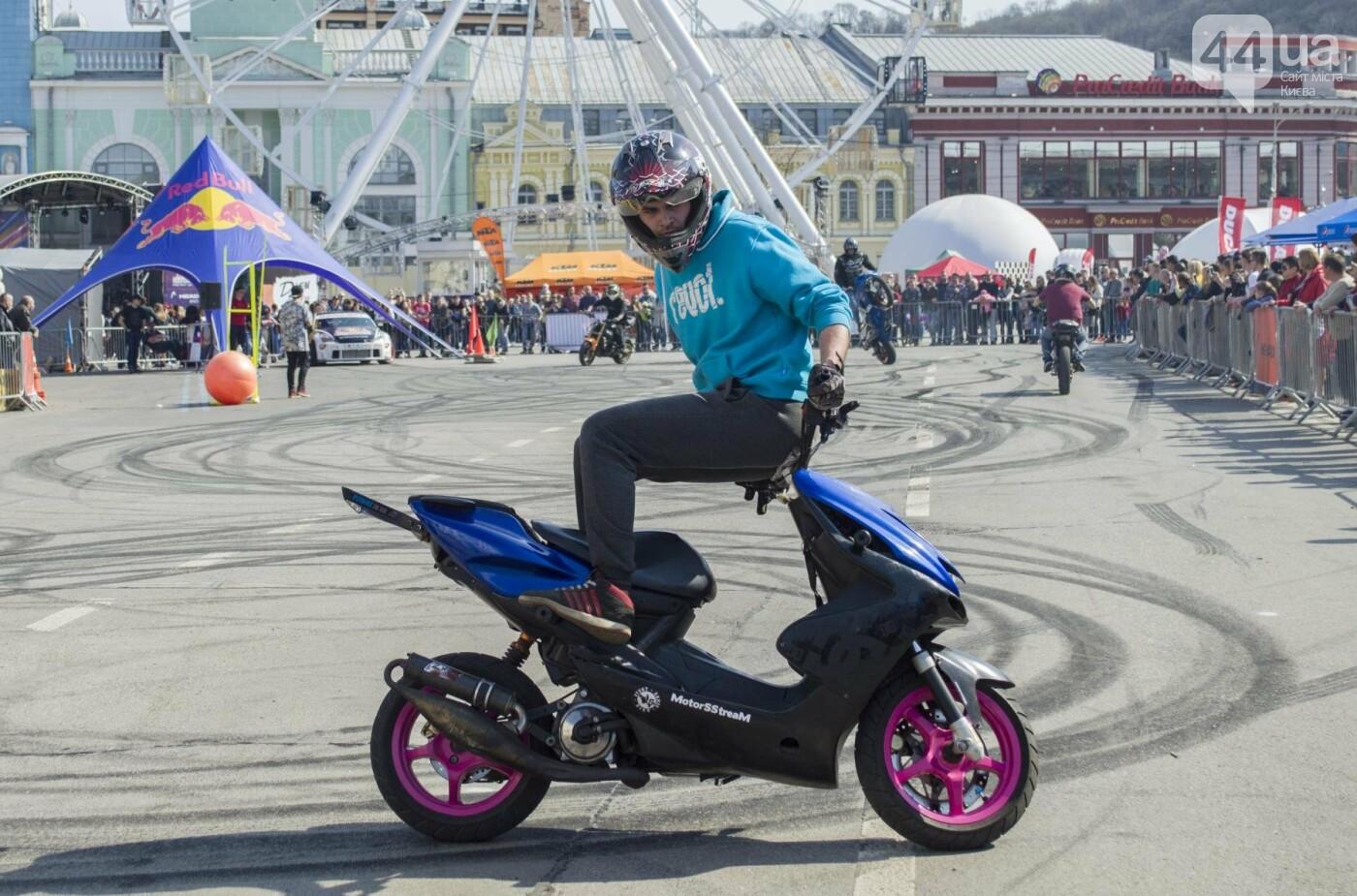 Мотогонки, автошоу патрульных и мощный дрифт: на Подоле проходит масштабный фестиваль драйва, фото-4