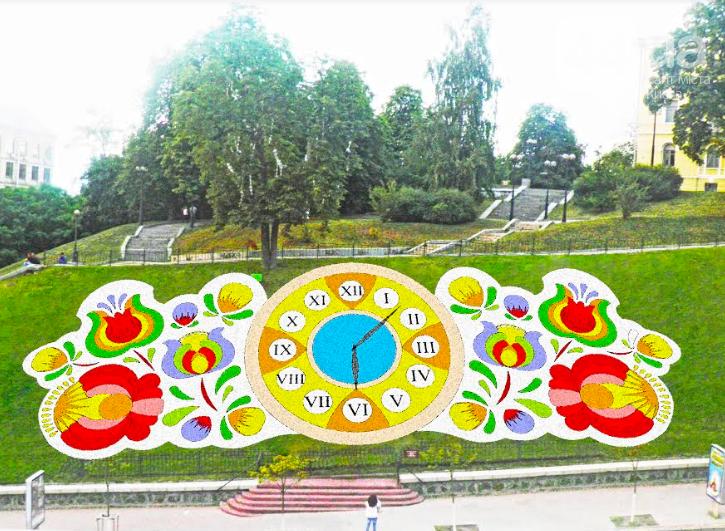 В центре Киева отремонтируют цветочные часы: какими они будут, фото-1