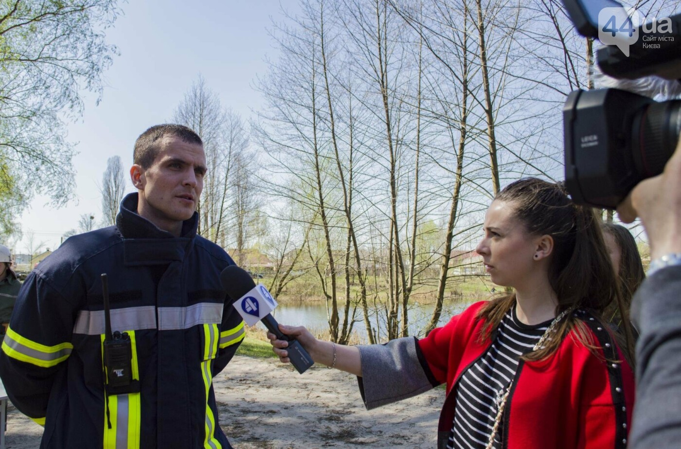"""На окраине Киева """"горел"""" лес: как спасатели боролись с огнем, фото-16"""