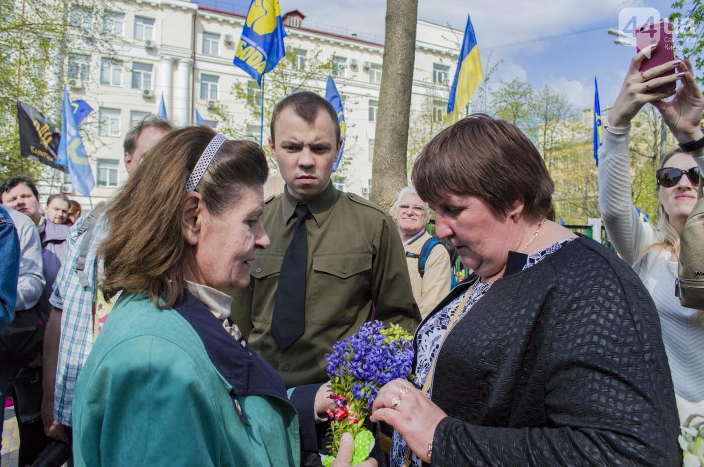 В Киеве открыли памятник погибшему бойцу АТО, фото-13