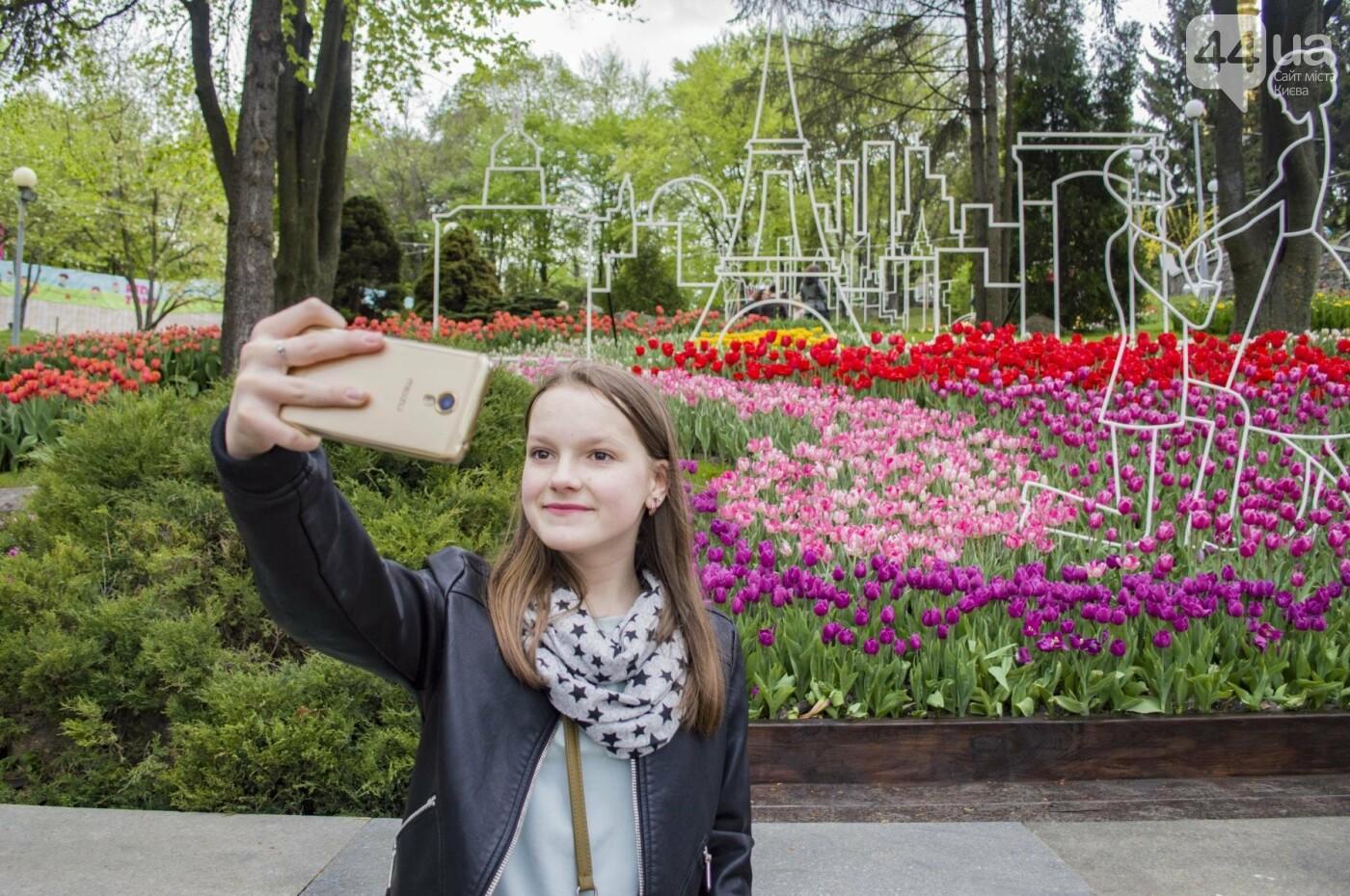 В Киеве открылась масштабная выставка тюльпанов, фото-11