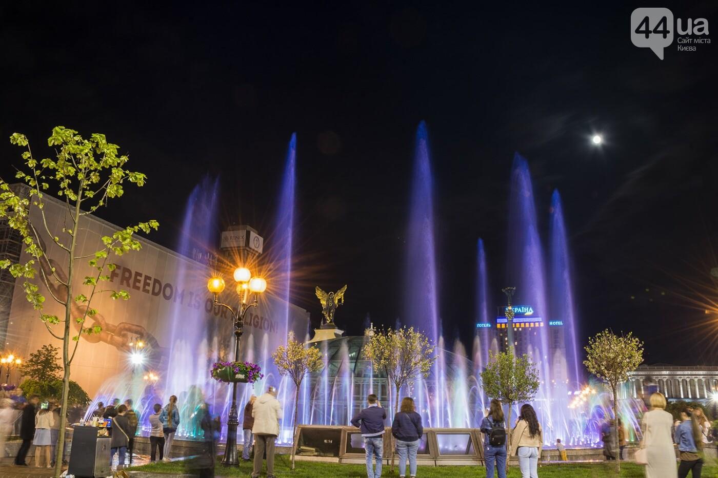 В Киеве включили фонтаны , фото-6