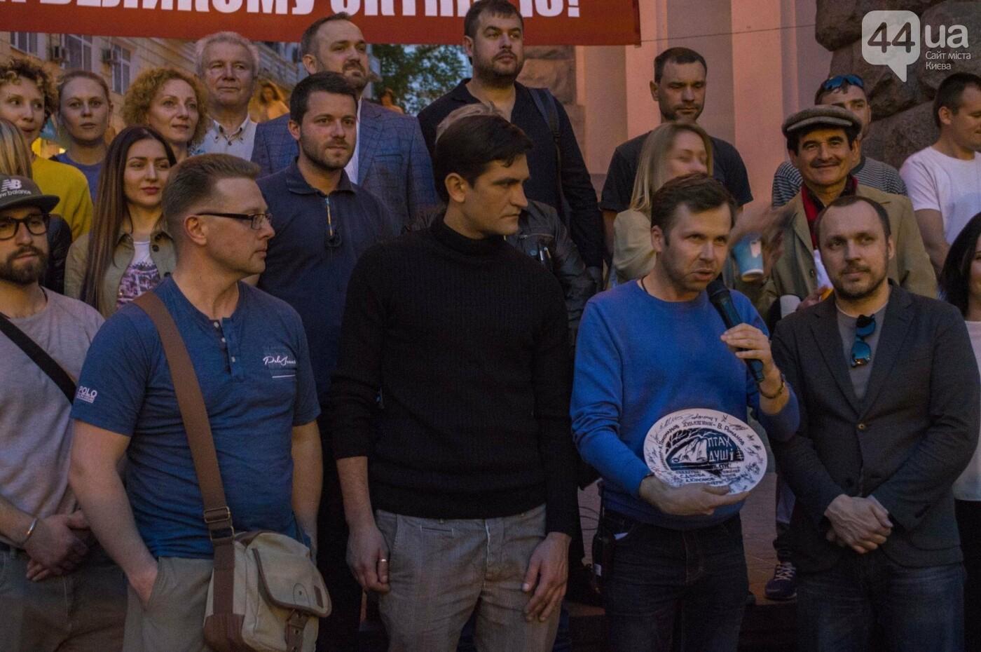 В Киеве снимают фильм об известном украинце: эксклюзивные закулисные фото, фото-8