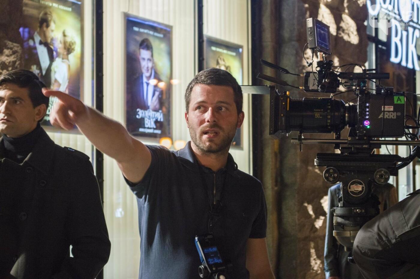 В Киеве снимают фильм об известном украинце: эксклюзивные закулисные фото, фото-9