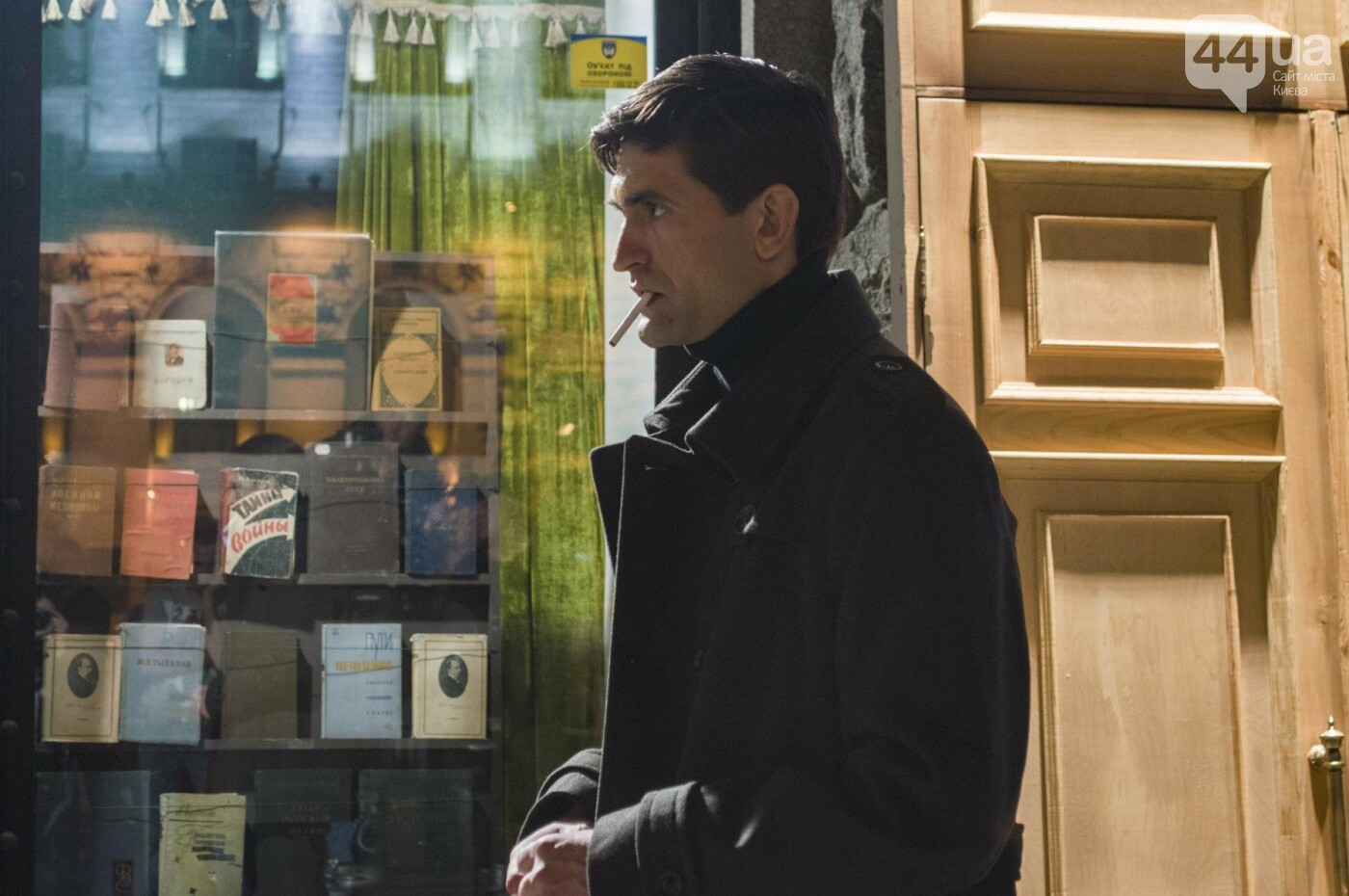 В Киеве снимают фильм об известном украинце: эксклюзивные закулисные фото, фото-10
