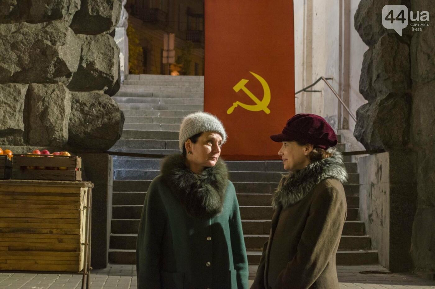 В Киеве снимают фильм об известном украинце: эксклюзивные закулисные фото, фото-13