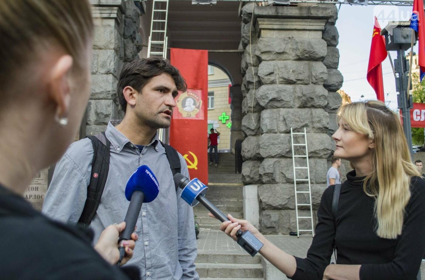 В Киеве снимают фильм об известном украинце: эксклюзивные закулисные фото, фото-3