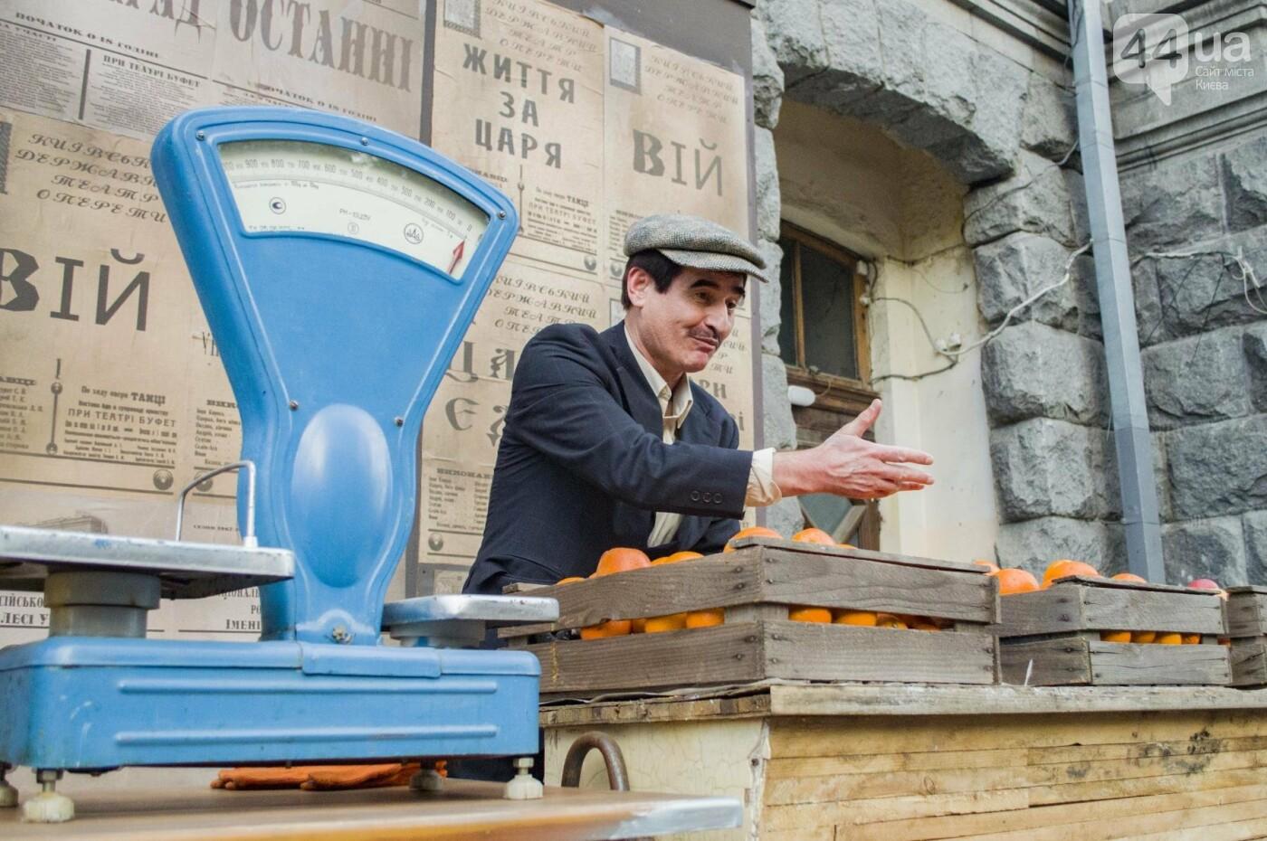 В Киеве снимают фильм об известном украинце: эксклюзивные закулисные фото, фото-6