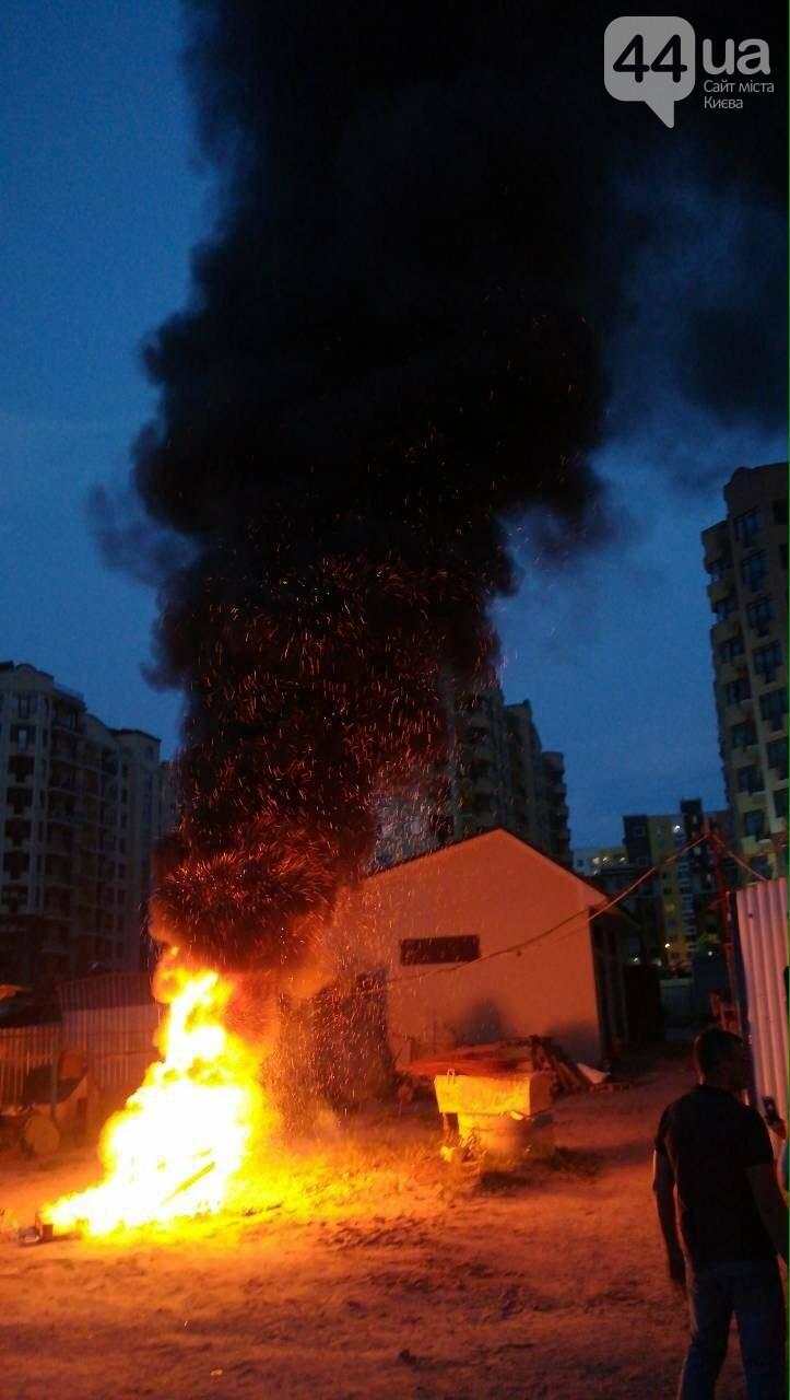 Бунт под Киевом: жители Ирпеня протестуют из-за отсутствия электричества, - ФОТО, фото-5